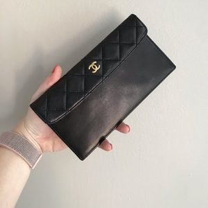 CHANEL Bags - Chanel quilted coin pouch